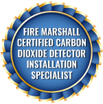 Fire Marshall Certified Carbon Dioxide Detector Installation Specialist